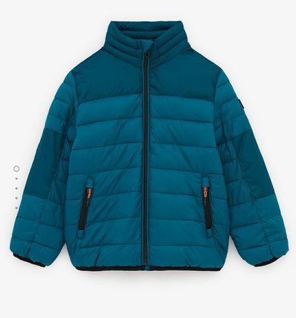 Kurteczka jesienna przejściowa Zara 140 pikowana chłopięca nowa
