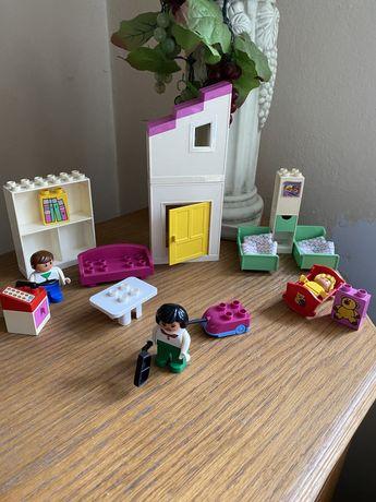 Klocki lego duplo unikat sypialnia salon odkurzacz kanapa telefon
