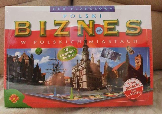 Gra planszowa Polski Biznes w polskich miastach