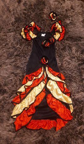Sukienka hiszpanka, 110-122, strój karnawałowy