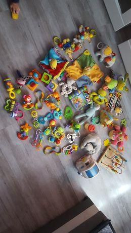 Zabawki, grzechotki, gryzaki