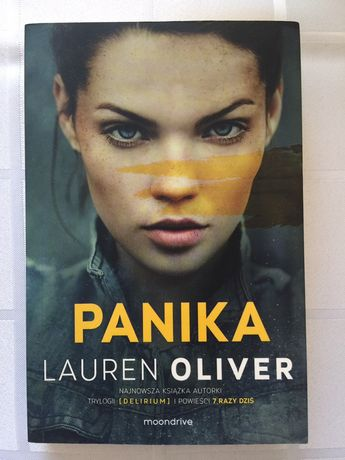 "Książka ""Panika"" Lauren Oliver"