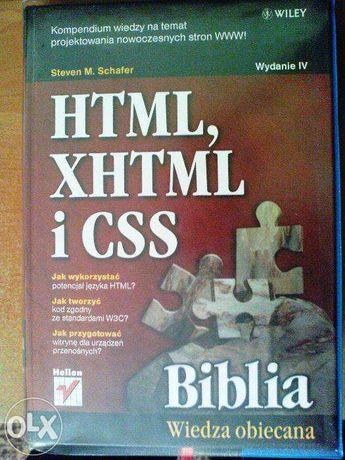 Biblia html xhtml i css wydanie IV
