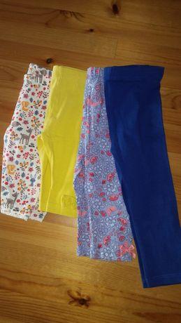 Leginsy spodnie getry dla dziewczynki 62 68 74