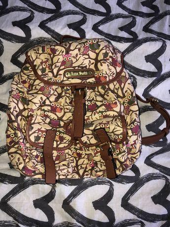 Plecak w sowy