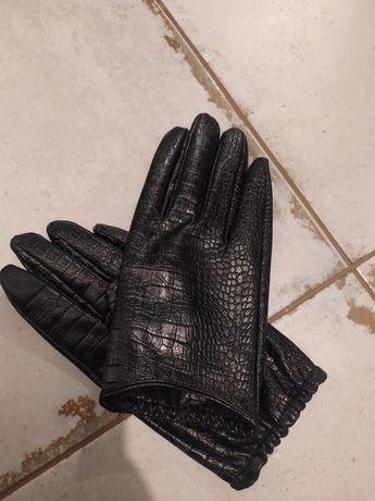 Перчатки Mango crocod