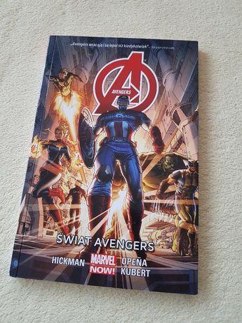 Komiks Świat Avangers Marvel Now!