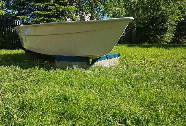 Łódka wędkarska, łódź wiosłowa z laminatu!