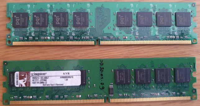 Memoria RAM 2x1GB PC2-6400