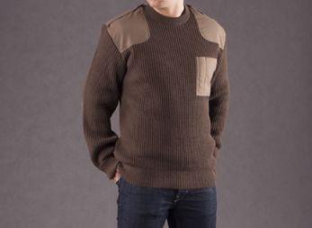 Nowy sweter MON 528 Sweter Oficerski Wojsk Lądowych Polski