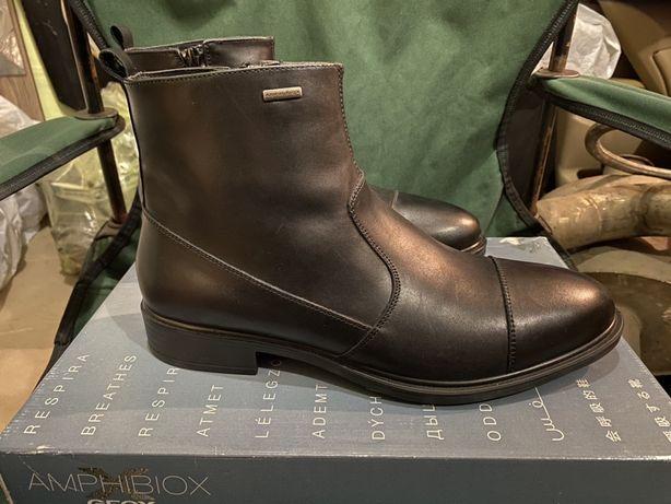 Новые зимние ботинки  GEOX  с мембранной