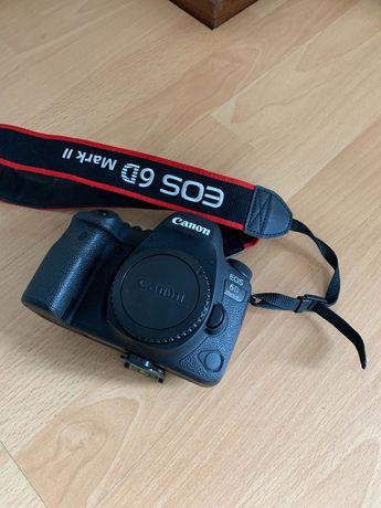 Canon 6D Mark II Como Nova + oferta micro RODE (NOVO)