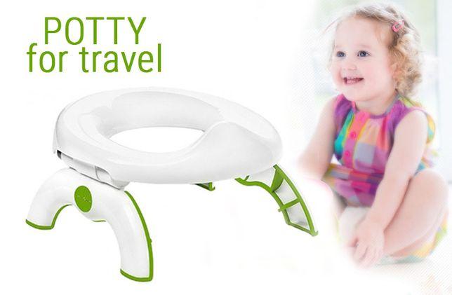 Детский дорожный горшок-туалет Bpafree Go Potty for Travel походный