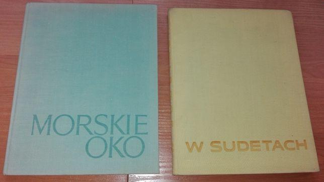 Morskie Oko - J. Młodziejowski i W Sudetach- K. Saysse-Tobiczyk albumy