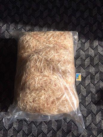 Декоративный наполнитель, древесная стружка (шерсть), 1 кг