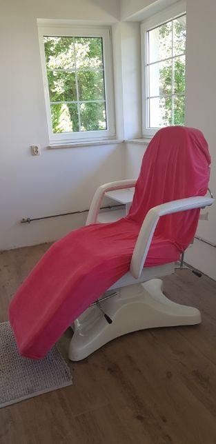 Wyposażenie/meble do salonu kosmetycznego - fotel + pomocnik