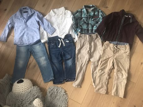 Paka ubrań dla chlopca 98
