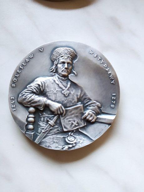 medal Bolesław Wstydliwy.