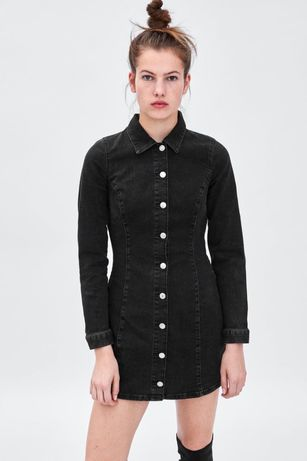 Платье джинсовое от Zara