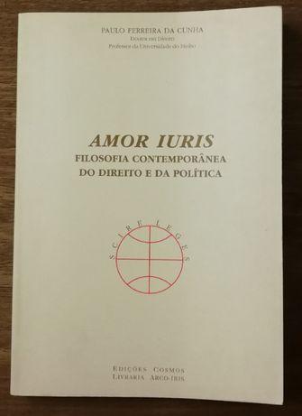 amor iuris, filosofia contemporânea do direito e da política