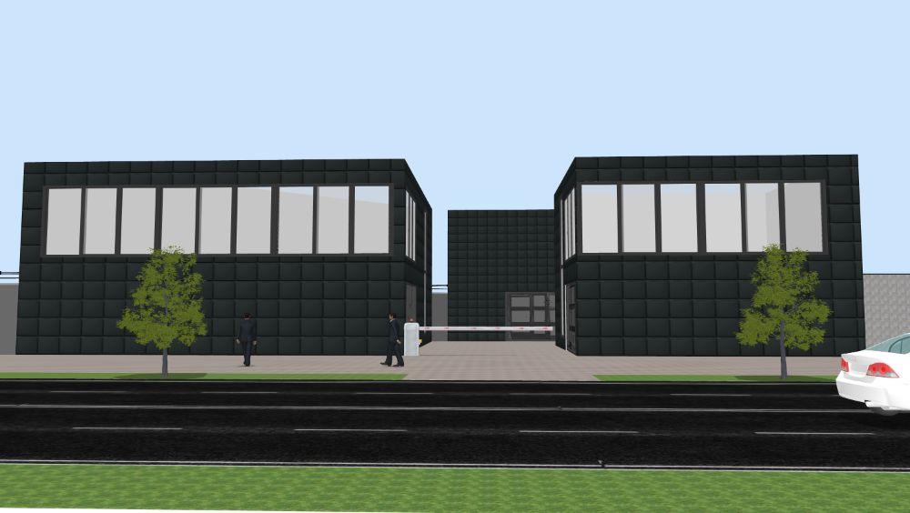 Продажа 3 фасадных гаража под реконструкцию 522 кв.м2 ул. Туполева Киев - изображение 1