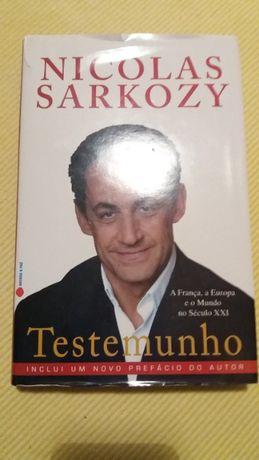 Livro Nicolas Sarkozy
