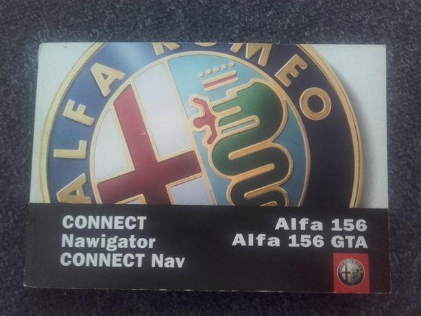 Alfa Romeo 156 GTA Connet Nawigator instrukcja j. polski