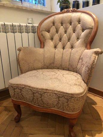 Stylowy fotel.
