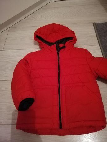 Kurtka zimowa carter's czerwona 24 msc r.92