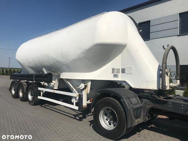 Feldbinder EUT 40.3  wydmuch lewy / cementowóz / oś podnowszona / BPW
