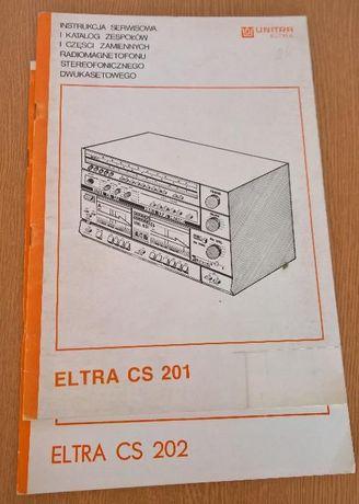 Instrukcje Serwisowe Unitra, CS-201,202