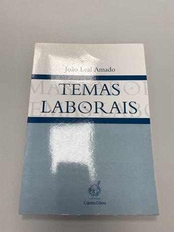 Livro Direito Temas Laborais 1 - João Leal Amado