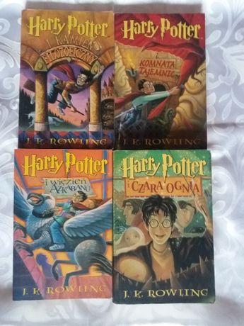 Harry potter Rowling 1-4 stare wydanie