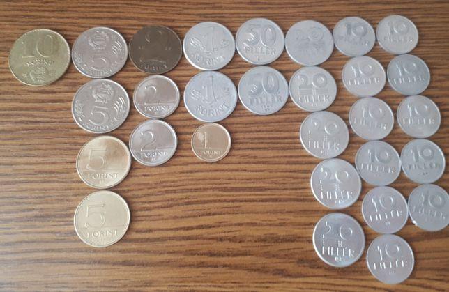 Zestaw monet Węgry Forint Filler 1958-87