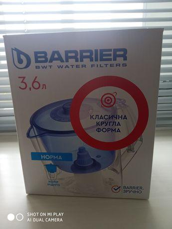 Новий фільтр Барьер норма.Barrier 3.6л кувшин.