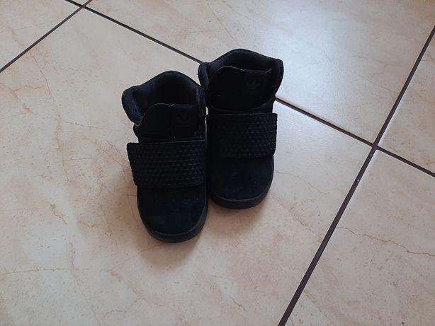 Buty skórzane adidas tubular chłopięce 23,5 jesienne zimowe eleganckie