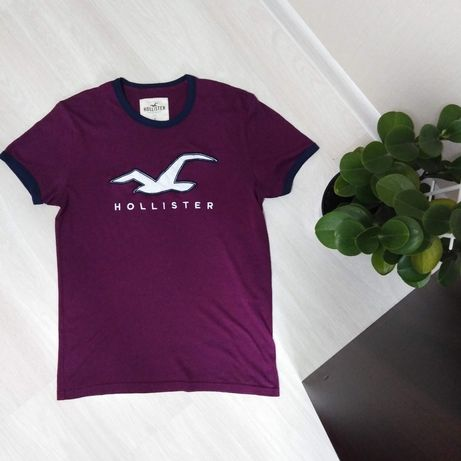 Оригинал! Мужская футболка Hollister, женская майка. Холистер