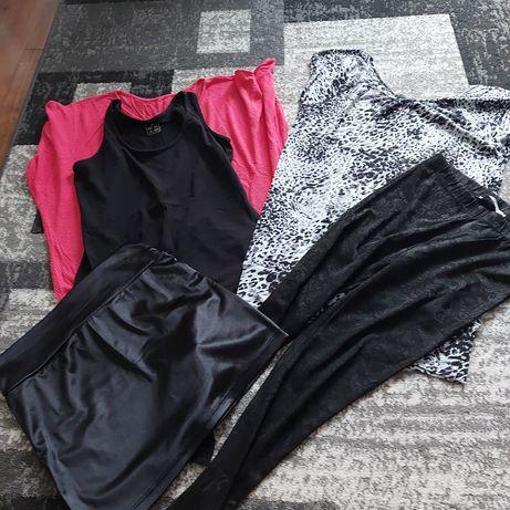 Ubrania rozmiar M całość