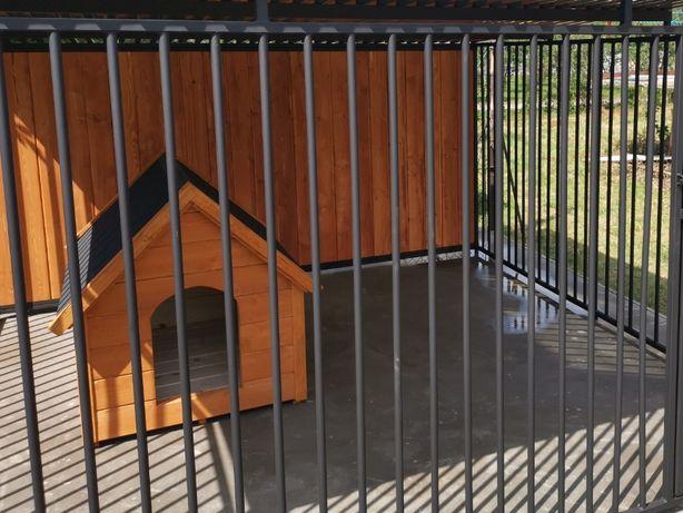 Kojec dla psa Boks Klatka buda 4,5x2 m