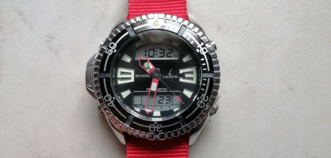 LAURENS - diver - głębokościomierz - zegarek