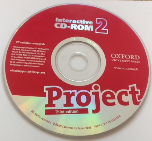Interactive CD-ROM 2 OXFORD Project Third edition
