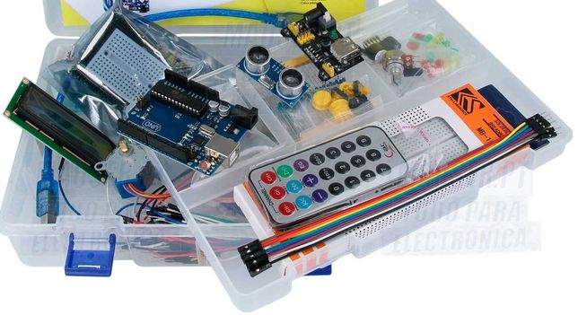2 Kits desenvolvimento/iniciação em electrónica+Placa Arduino UNORev 3