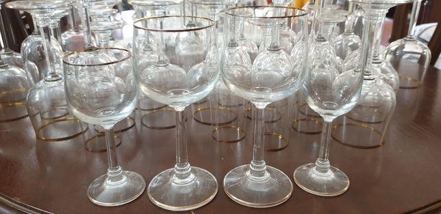 Cristaleria fina Jogo de copos de vidro de bohemia 48 peças