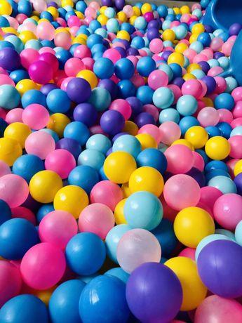 Piłki, kulki do sali zabaw, basenu, klatki zabawowej, figloraj