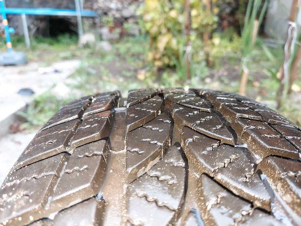 Prawie nowe Opony zimowe z felgami stalowymi - bieznik 8 mm 4 szt.