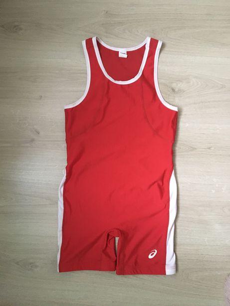 Борцовское трико Asics размер S одежда для борьбы