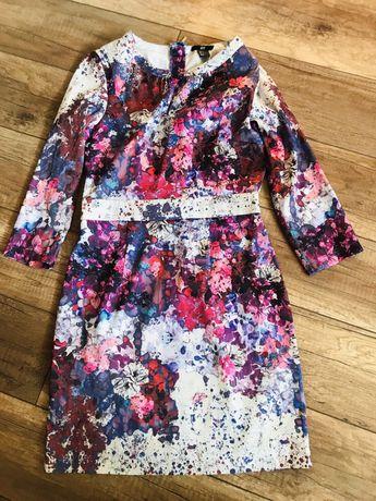 Sukienka H&M Lana del Rey kwiaty floral