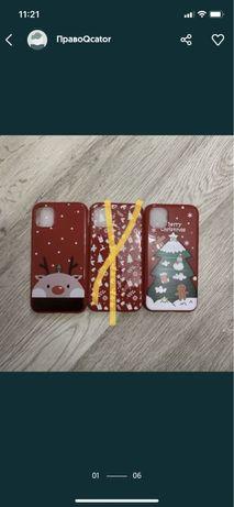 Новорічні новогодние чехол iPhone XR/11/11 Pro Max