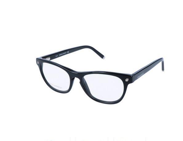Новые очки Dsquared 2 оправа оригинал унисекс чёрный глянец