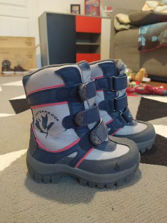 Kozaki śniegowce buty zimowe Vemont 24